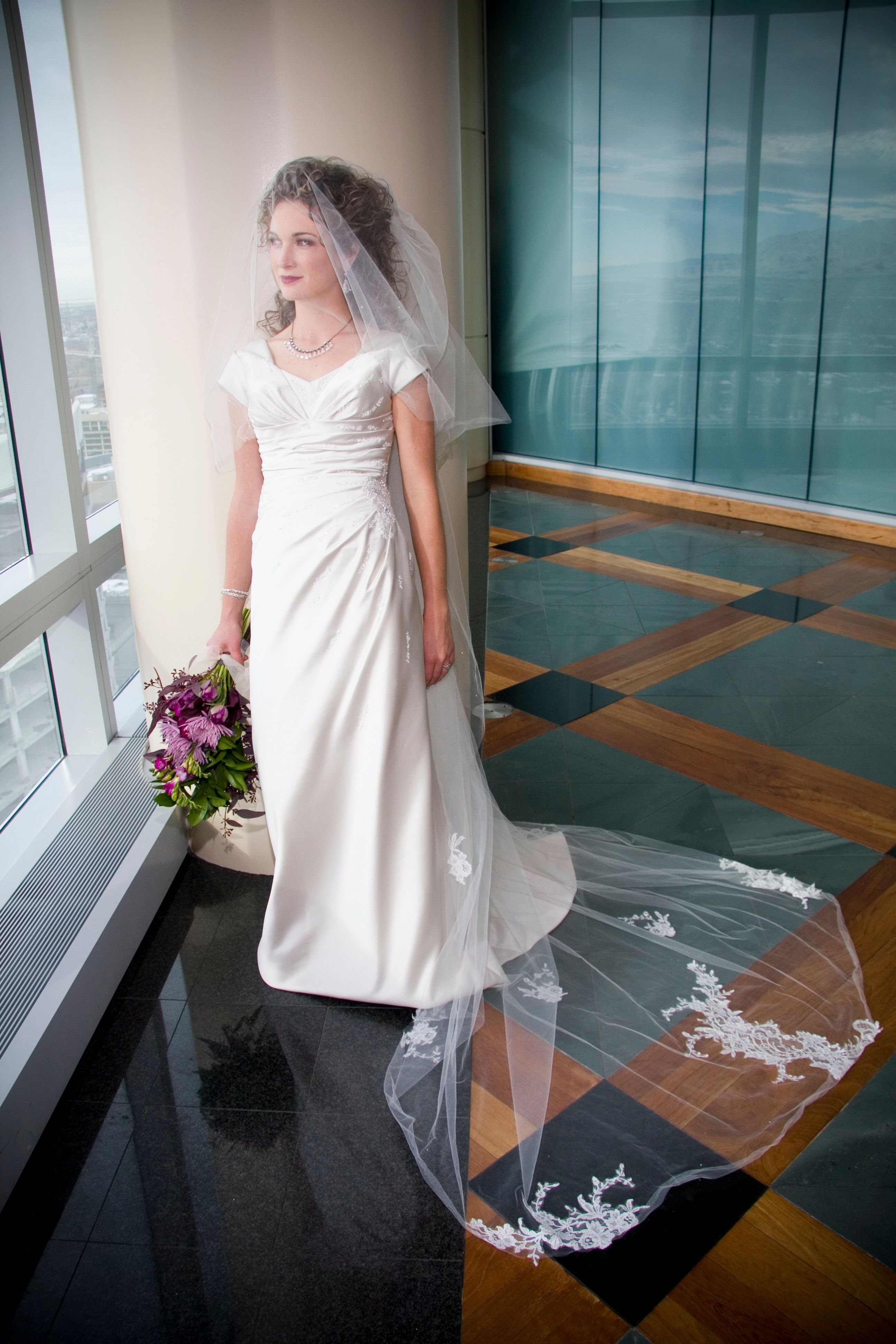 Beauty Panel wedding dress photos